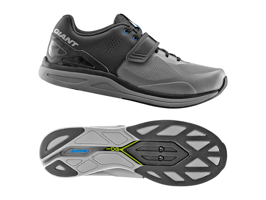 Giant Orbit Cycling Shoes Black/Grey Hv Last - Cyclop.in
