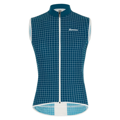 Santini Nebula Vest - Teal - Cyclop.in