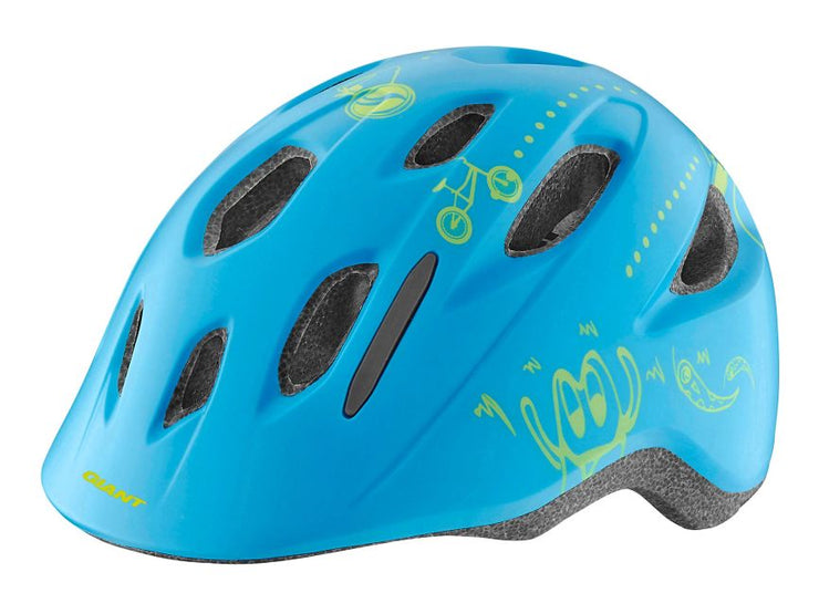 Giant Holler Cycle Helmet | Matte Blue - Cyclop.in