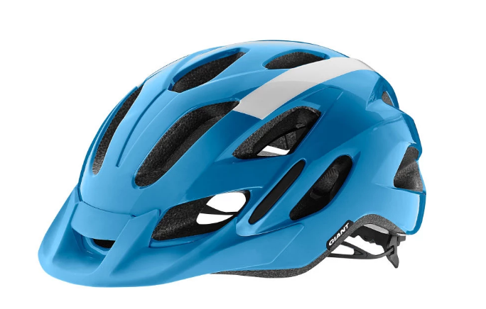 Giant Compel Cycle Helmet | Gloss Blue/White - Cyclop.in