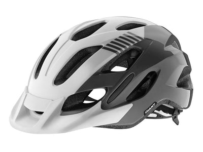 Giant Prompt Cycle Helmet Gloss Grey/White - Cyclop.in