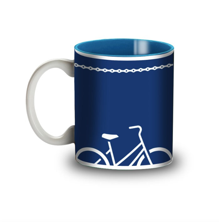 Cycling Inspired Coffee Mug - Psyclepath - Cyclop.in