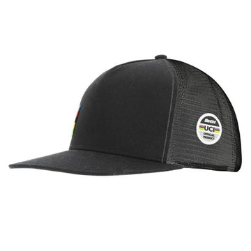 Santini UCI Official Trucker Cap - Black - Cyclop.in