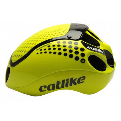 Catlike Road Cloud 352 Cycle Helmet | Fluor Yellow - Cyclop.in