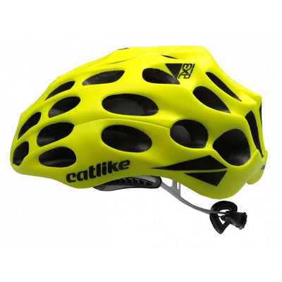 Catlike Road Mixino Cycling Helmet | Fluor Yellow Matt - Cyclop.in