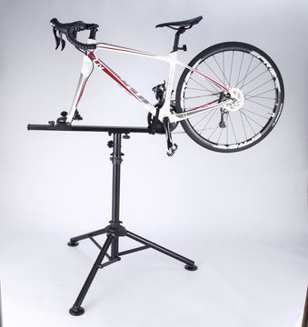 Bike Hand Professional Bicycle Repair Stand with Tripod Extension - Cyclop.in