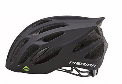 Merida Agile SC25 Cycle Helmet | Black Green - Cyclop.in