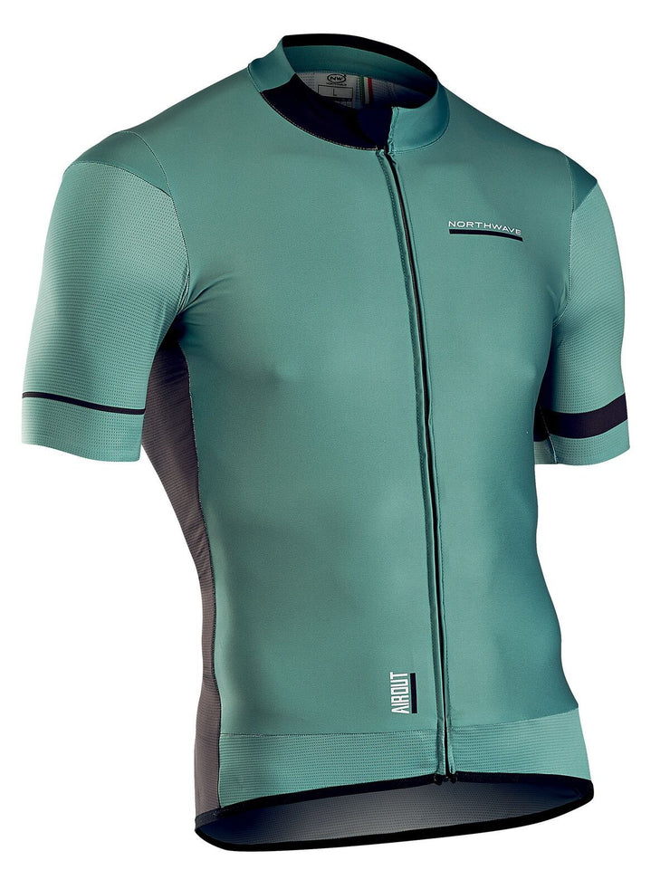 Northwave Air Out CyclingJersey -Green-Black - Cyclop.in