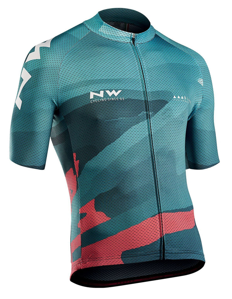 Northwave Blade 3 CyclingJersey -Green Forest - Cyclop.in
