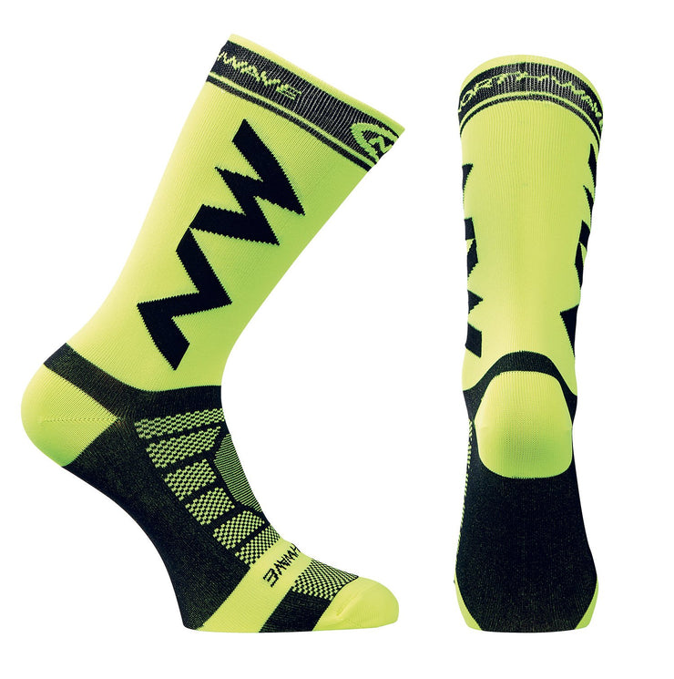 Northwave Extreme Light Pro Cycling Socks -Yellow Fluo/Black - Cyclop.in