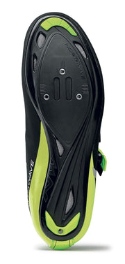 Northwave Phantom 2 SRS Shoes-Black/Yellow Fluo - Cyclop.in