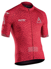 Northwave Rough CyclingJersey -Red - Cyclop.in