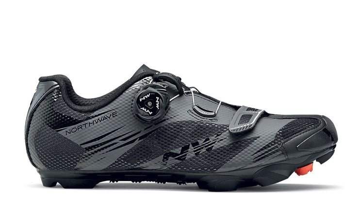 Northwave Scorpius 2 Plus Shoes-Black/Anthra - Cyclop.in