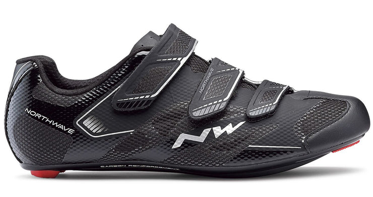 Northwave Sonic 2 Shoes-Black - Cyclop.in