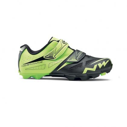 Northwave Spike Evo Shoes-Yellow Fluo/Black - Cyclop.in