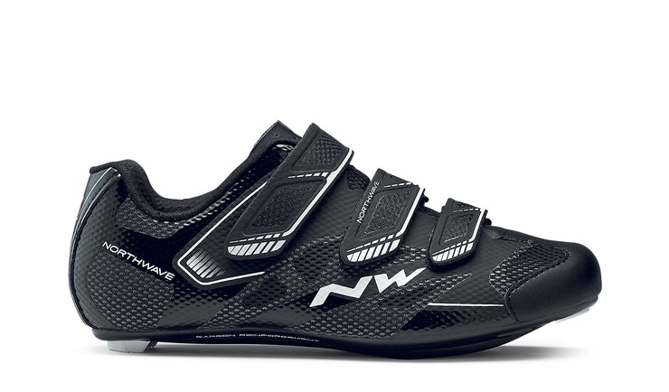 Northwave Starlight 2 Shoes-Black/White - Cyclop.in