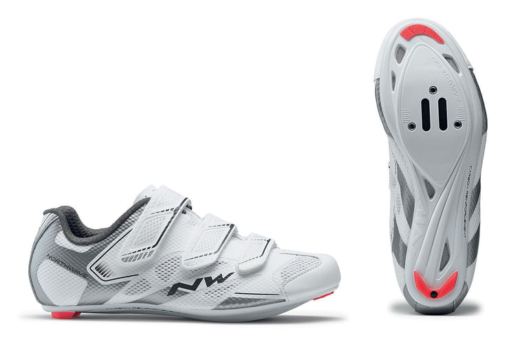 Northwave Starlight 2 Shoes-White/Silver - Cyclop.in