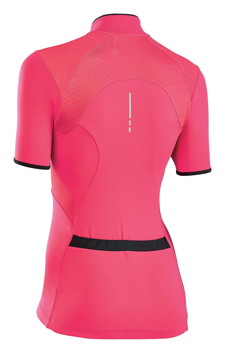 Northwave Women Venus 2 CyclingJersey -Red-Black - Cyclop.in