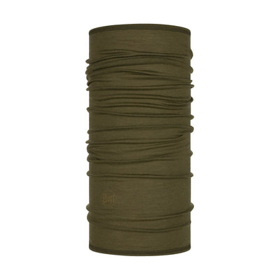 Solid Bark - BUFF® Lightweight Merino Wool Tubular - Cyclop.in