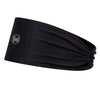 Solid Black - BUFF® CoolNet® UV+ Tapered Headband - Cyclop.in