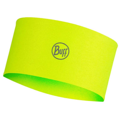 Solid Yellow Fluor - BUFF® CoolNet® UV+ Headband - Cyclop.in