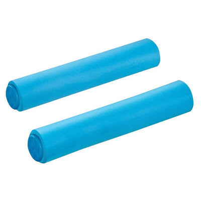 Supacaz Siliconez MTB Grips Blue - Cyclop.in