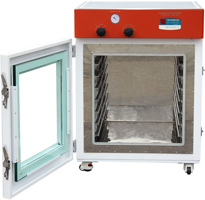 "Across International UL CERTIFIED 7.6 Cu Ft 24x24x24"" Vacuum Oven w/7 Aluminum Shelves"