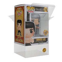 "PPJoe Pop Protector 4"", Rock Solid Funko Vinyl Protection [Single Protector]"