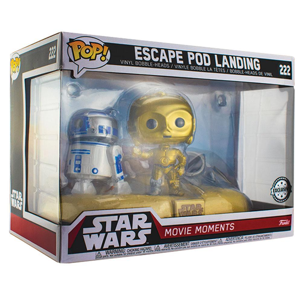 Pop Vinyl Protector - PPJoe Star Wars Movie Moments Pop Protector, Rock Solid Funko Vinyl Protection