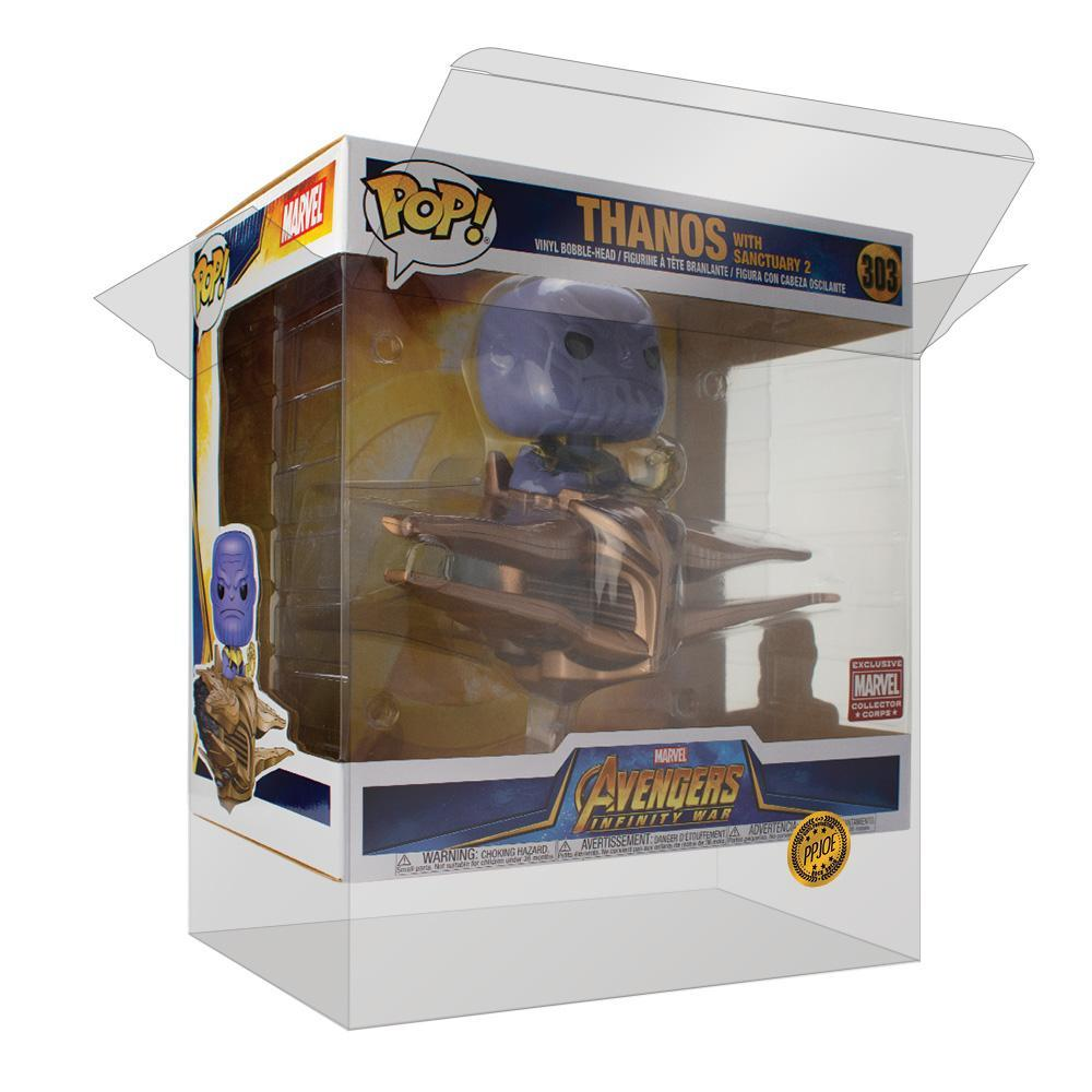 Pop Vinyl Protector - PPJoe Thanos With Sanctuary 2 Pop Protector, Rock Solid Funko Vinyl Protection