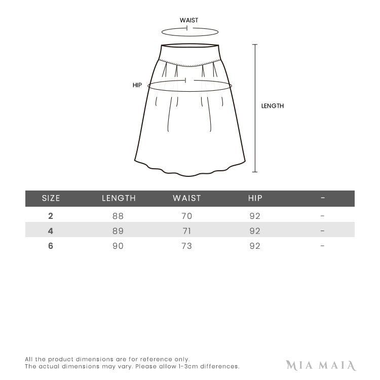 Alexander Wang Frayed Hem Denim Sleevesless Dress | Size Chart | Mia-Maia.com