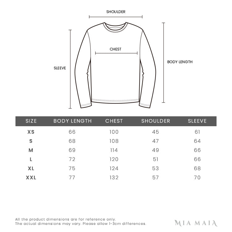 Champion Reverse Weave Pullover Hoodie | Size Chart | Mia-maia.com
