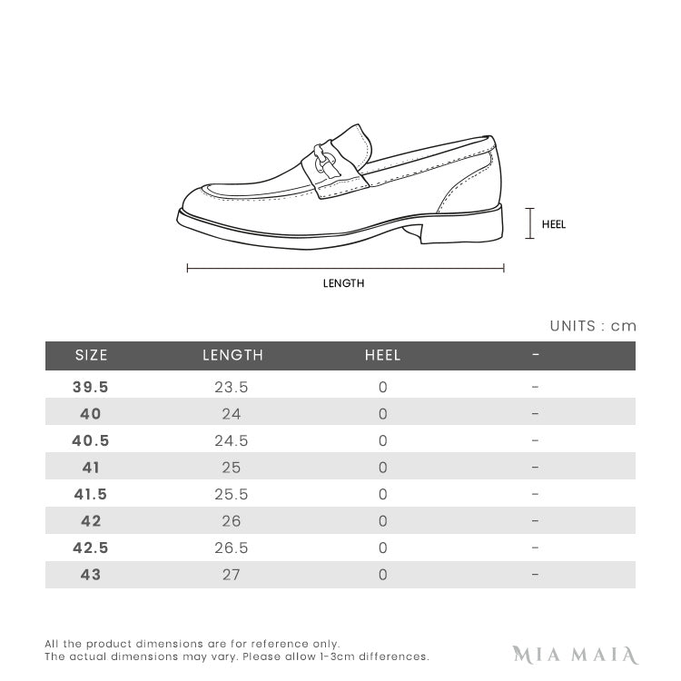 Salvatore Ferragamo GRANPRIX Leather Loafer | Size Chart