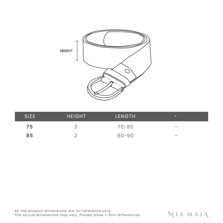 Gucci Queen Margaret Leather Belt | Size Chart | Mia-Maia.com