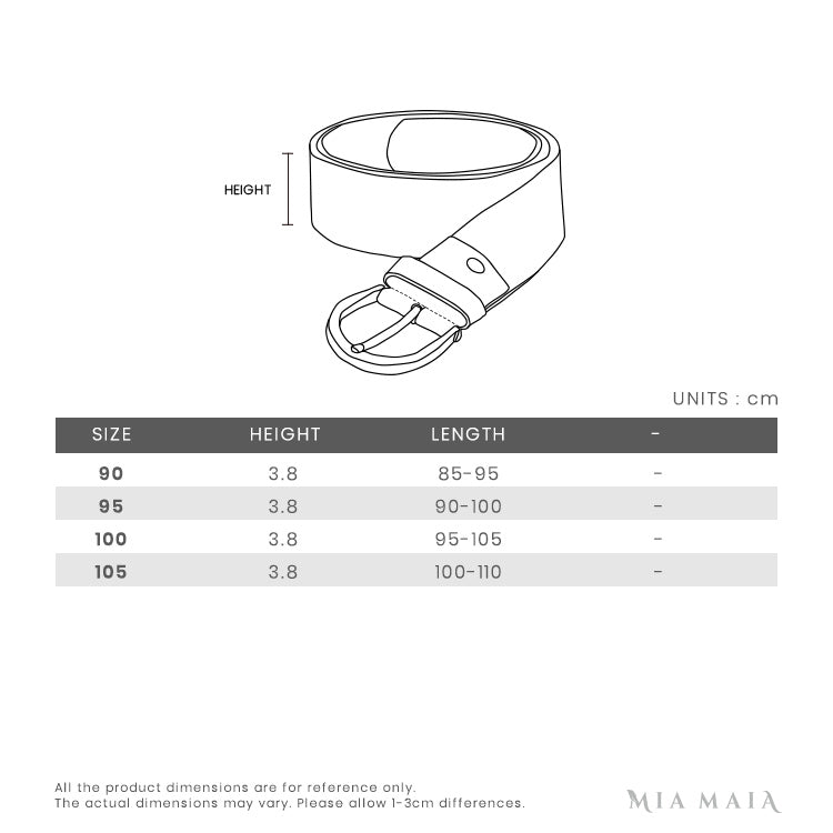 Gucci Leather Belt with Double G Buckle | Size Chart | Mia-Maia.com