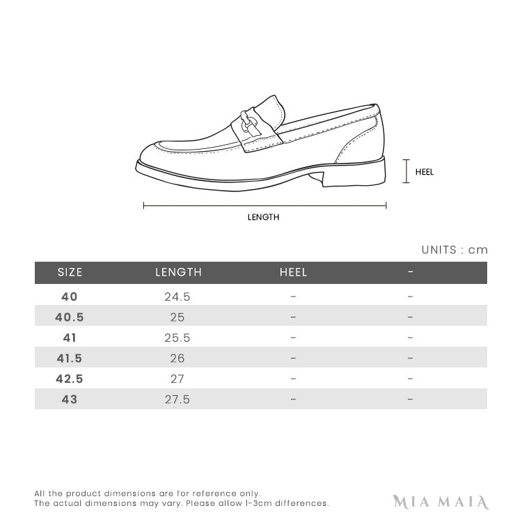 Gucci Jordaan Horsebit Leather Loafer | Size Chart