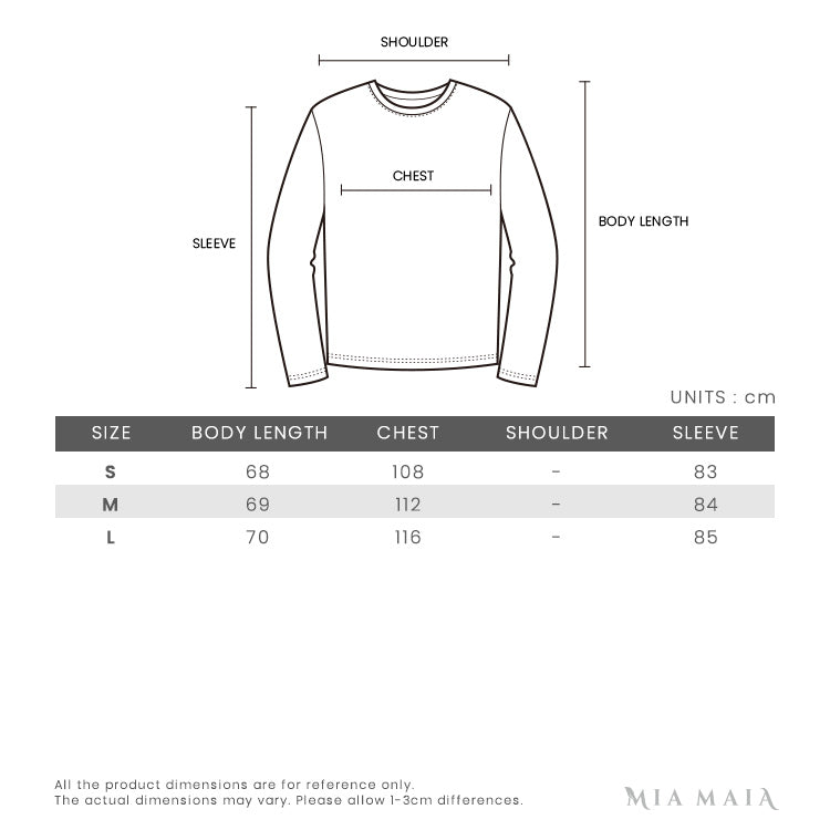 Gucci Wool Cardigan with Bee Applique | Size Chart