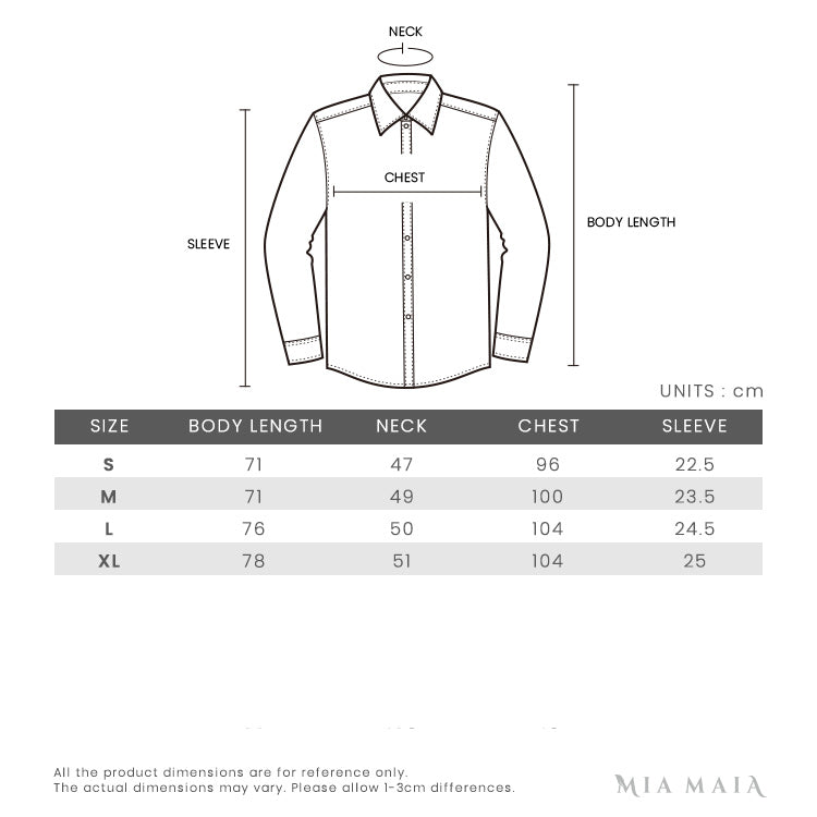 Gucci Embroidered Collar Polo Shirt | Size Chart | Mia-Maia.com