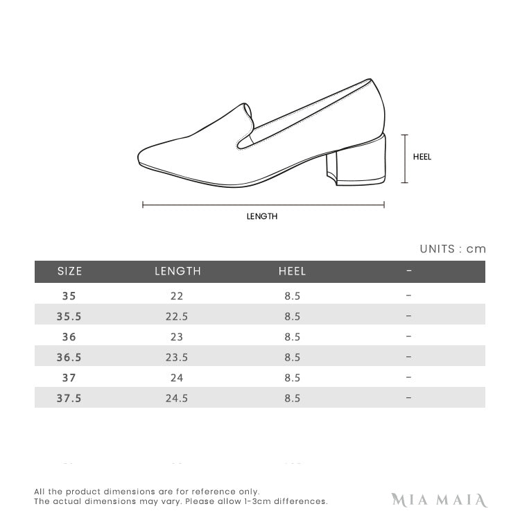 Jimmy Choo Love 85 Pumps | Size Chart | Mia-Maia.com