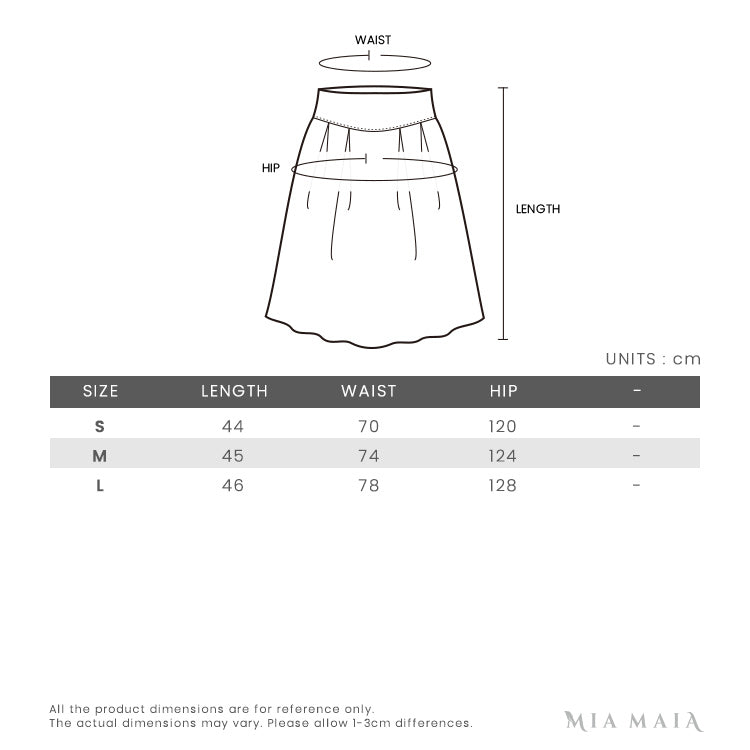 Kenzo Tiger Patch Knitted Mini Skirt | Size Chart