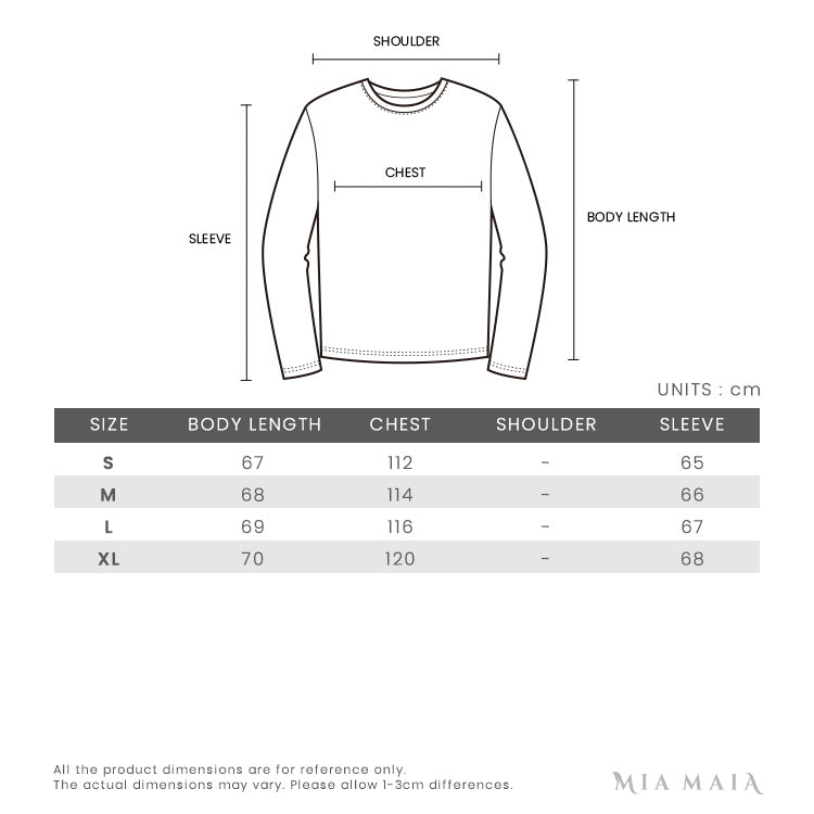 Kenzo Signature Eye Embroidered L/S Hoodie | Size Chart