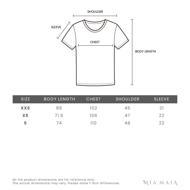 Marcelo Burlon Black & Multicolor Chalk Wings T-shirt | Size Chart | Mia-maia.com