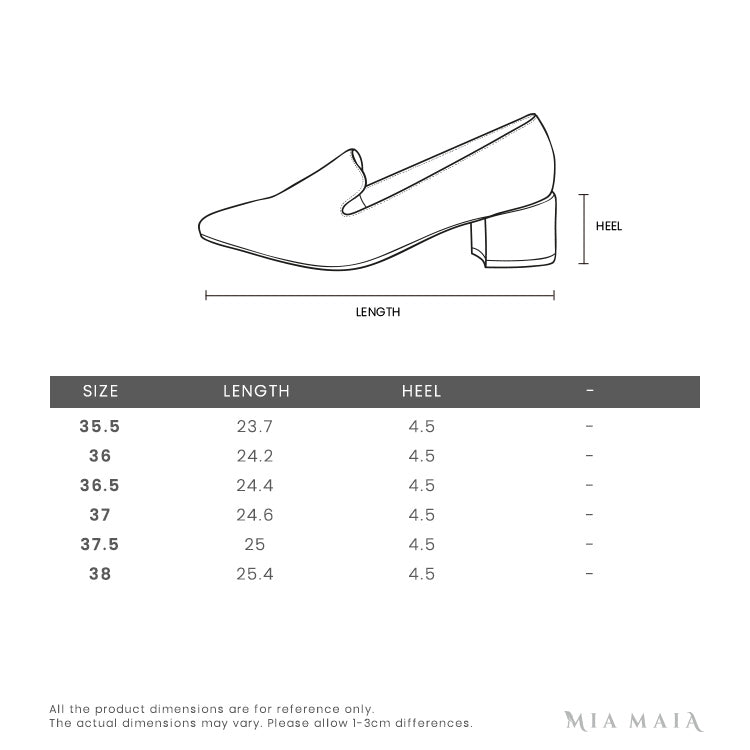 Roger Vivier Belle Vivier Trompette Pumps in Leather | Size Chart | Mia-Maia.com