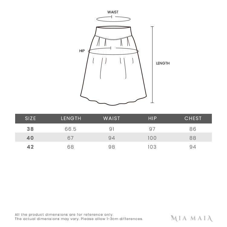 Thom Browne Polo Dress | Size Chart | Mia-Maia.com