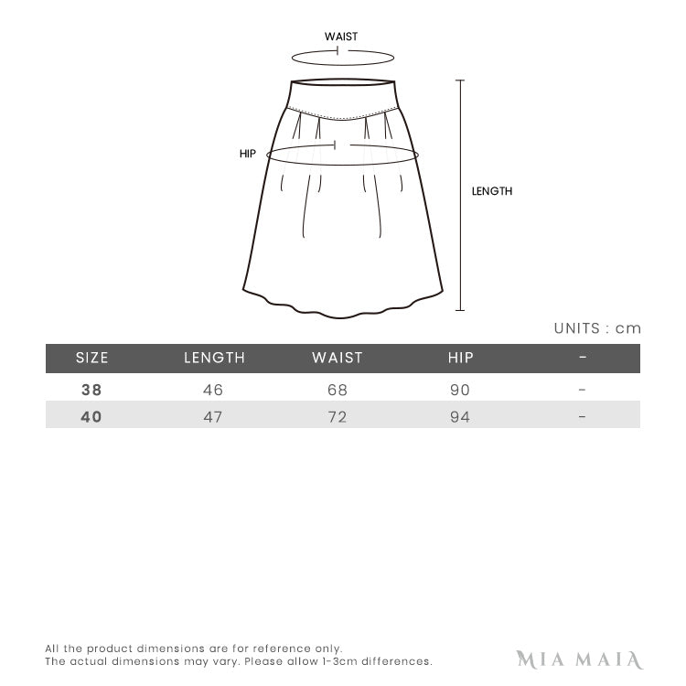 Thom Browne Striped Pleated Fun Mix Mini Skirt | Size Chart
