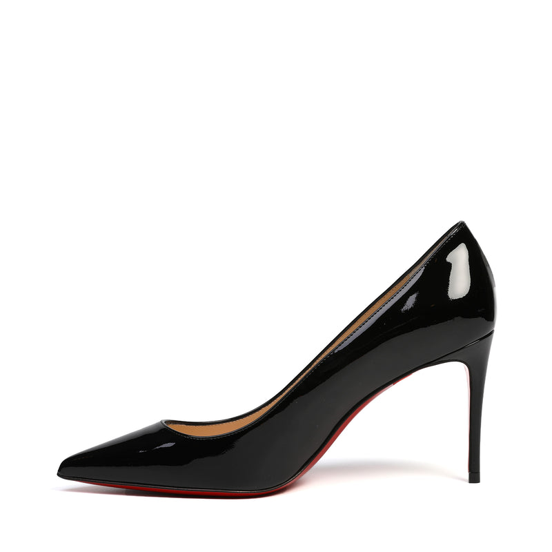 Kate 85 Black Patent Leather Pumps
