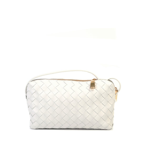 Intrecciato Mini Crossbody Bag