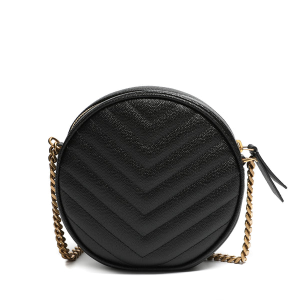 Round Quilted Bag