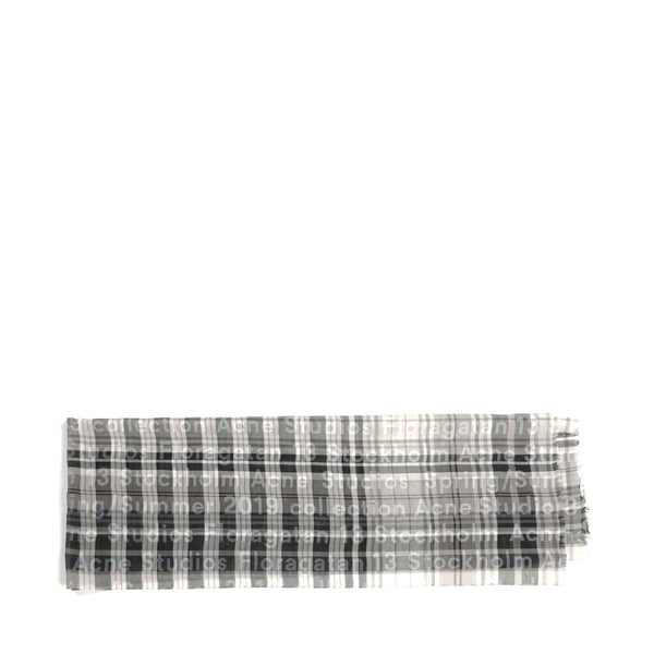 Acne Studios Plaid Scarf