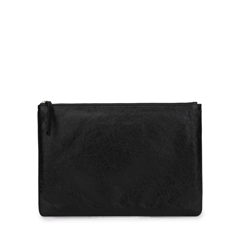[CLEARANCE] - I Love Techno Leather Pouch